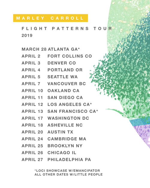 Flight Patterns Tour Poster